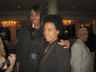 Banquet Guest Speaker Lisa Leslie (and myself)
