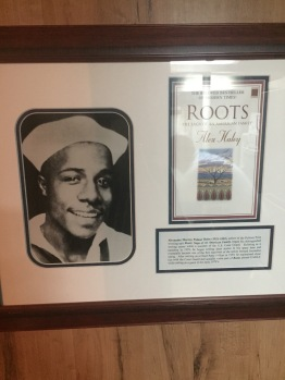 Fact: Alex Haley was a US Cadet on board the US Coast Guard Eagle, where he started writing Roots!!